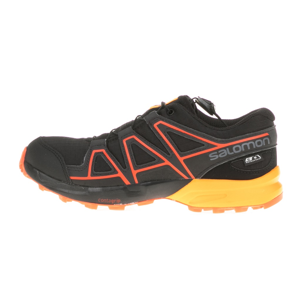 SALOMON – Παιδικά παπούτσια SPEEDCROSS CSWP μαύρα
