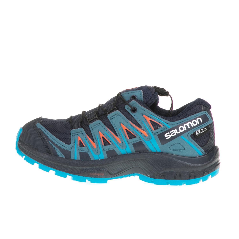 SALOMON – Παιδικά αθλητικά παπούτσια XA PRO 3D CSWP SALOMON μπλε-μαύρα