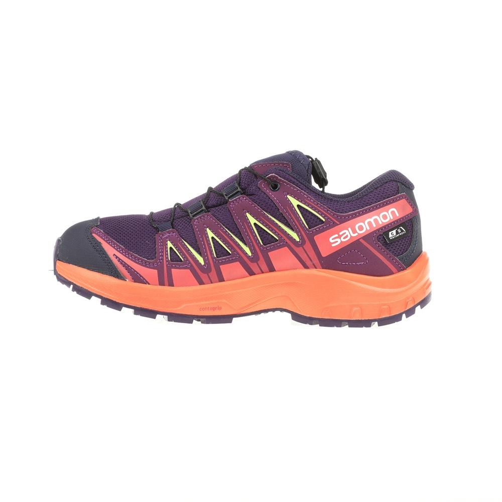 -9% SALOMON – Παιδικά αθλητικά παπούτσια SALOMON KIDS SHOES XA PRO 3D CSWP  μοβ – πορτοκαλί 139ff0cc876