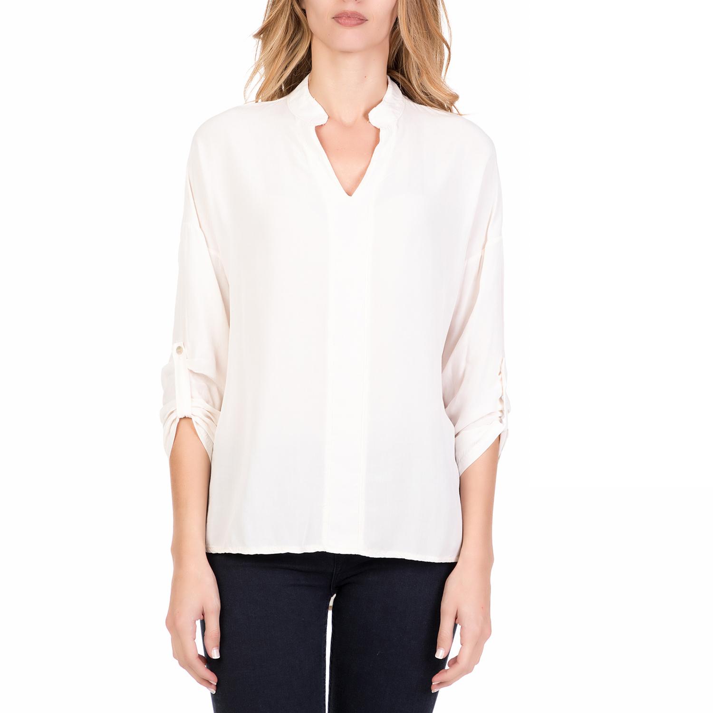 05b2bd405e7e ALE - Γυναικείο μακρυμάνικο πουκάμισο  ALE λευκό