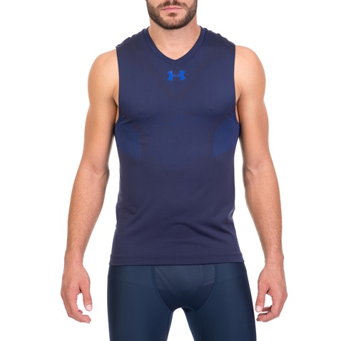 5b93cc0b8de3 Ανδρική αθλητική αμάνικη μπλούζα UNDER ARMOUR CURRY μπλε (1719069.0-0026)