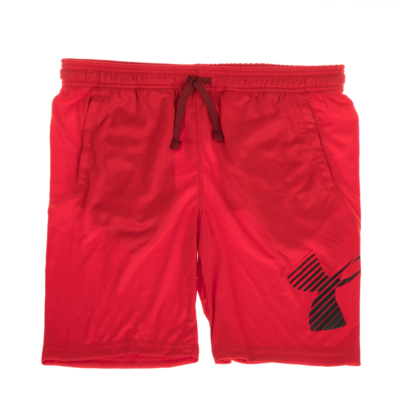 UNDER ARMOUR - Αγορίστικο σορτς UNDER ARMOUR Renegade Solid Short κόκκινο