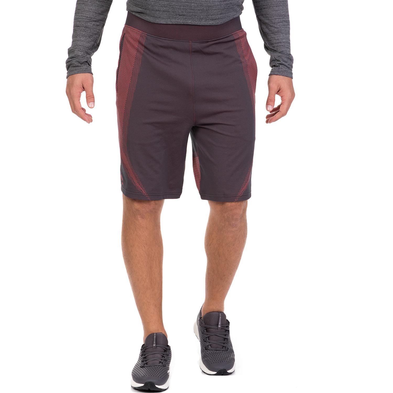 UNDER ARMOUR - Ανδρικό αθλητικό σορτς UNDER ARMOUR Threadborne Seamless μπορντό ανδρικά ρούχα σορτς βερμούδες αθλητικά