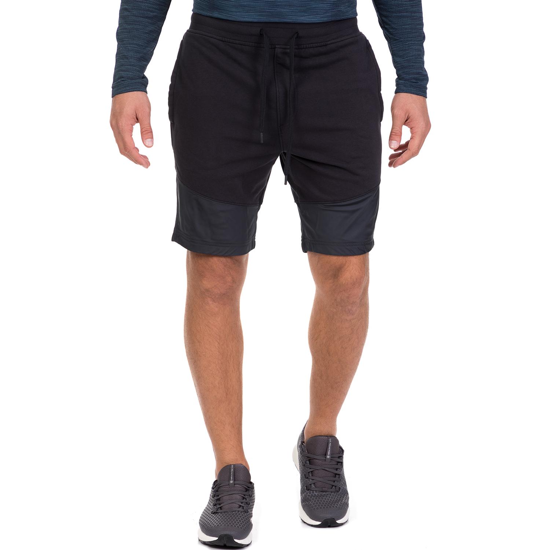 UNDER ARMOUR - Ανδρικό αθλητικό σορτς UNDER ARMOUR THREADBORNE TERRY μαύρο ανδρικά ρούχα σορτς βερμούδες αθλητικά