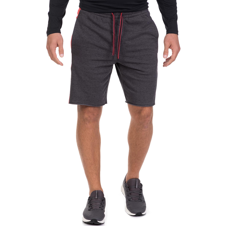 UNDER ARMOUR - Ανδρικό αθλητικό σορτς UNDER ARMOUR EZ KNIT γκρι ανδρικά ρούχα σορτς βερμούδες αθλητικά
