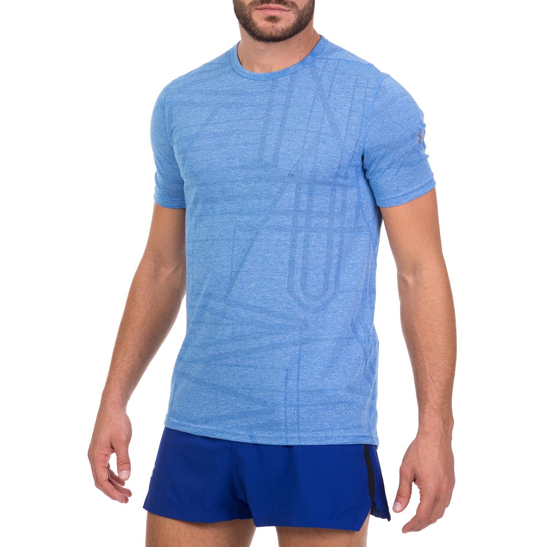 5212f1947c5f UNDER ARMOUR - Ανδρική αθλητική κοντομάνικη μπλούζα UNDER ARMOUR  THREADBORNE ELITE μπλε