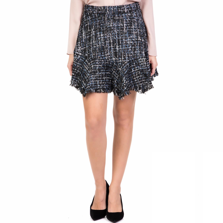 SILVIAN HEACH - Γυναικεία μίνι φούστα ORANGEE SILVIAN HEACH μπλε