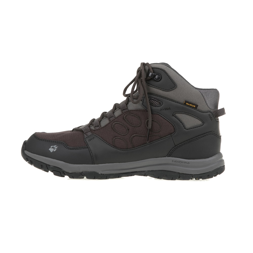 JACK WOLFSKIN – Ανδρικά μποτάκια ACTIVATE TEXAPORE MID JACK WOLFSKIN ανθρακί