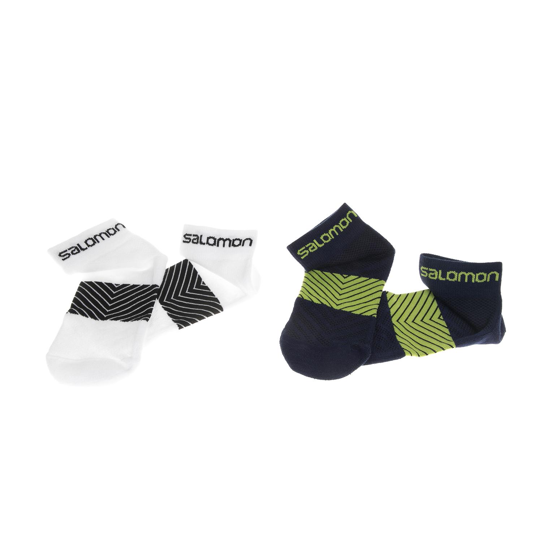 SALOMON - Σετ unisex κάλτσες SALOMON TRAIL RUNNING XA 2-PACK μαύρες-λευκές γυναικεία αξεσουάρ κάλτσες