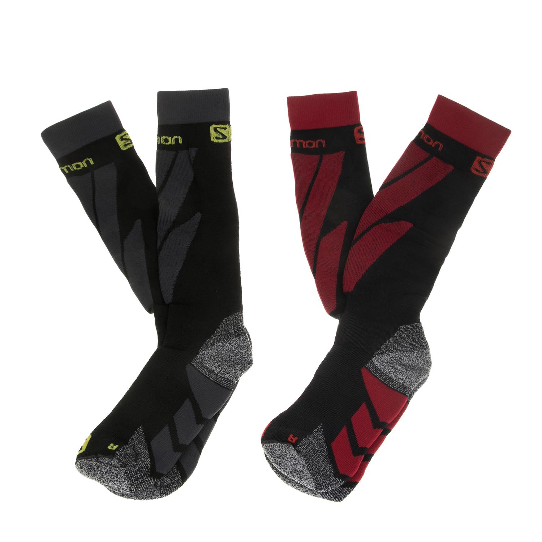SALOMON - Σετ unisex κάλτσες SALOMON SKI S/ACCESS μαύρες γυναικεία αξεσουάρ κάλτσες