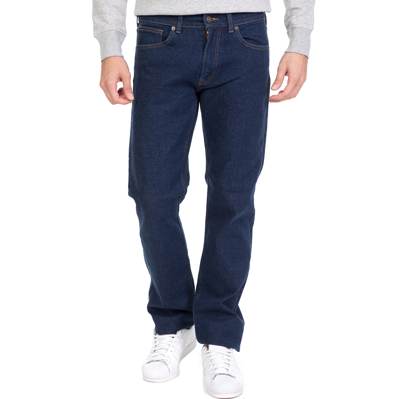GANT - Ανδρικό τζιν παντελόνι GANT σκούρο μπλε ανδρικά ρούχα τζίν straight