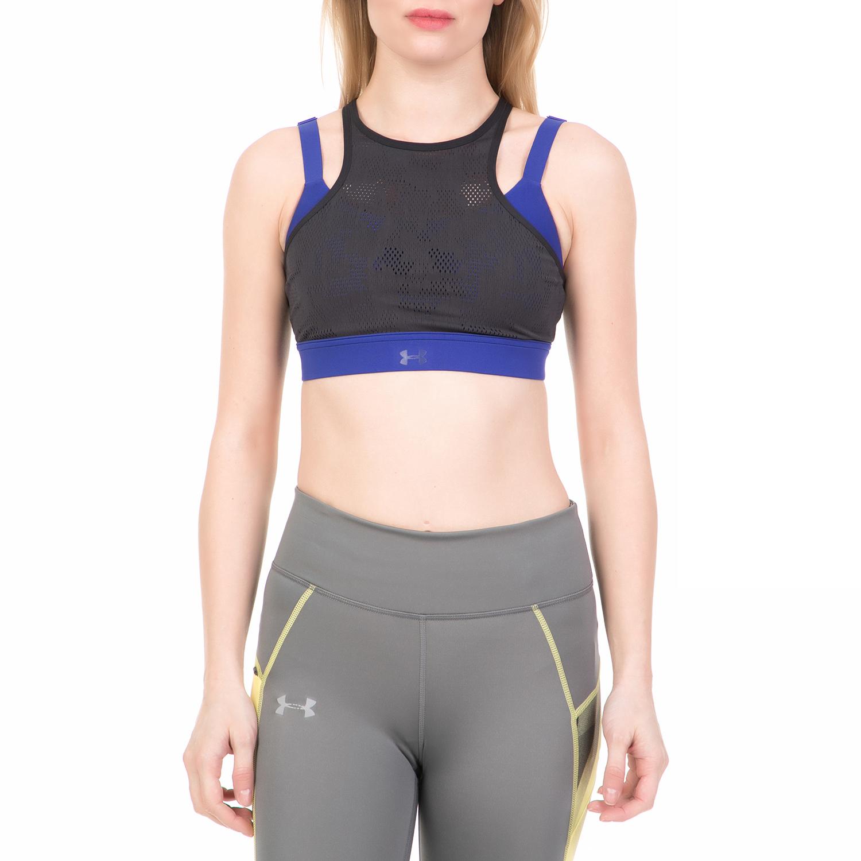25d7d13eff49 UNDER ARMOUR - Γυναικείο αθλητικό μπουστάκι BALANCE MESH MID UNDER ARMOUR  μπλε