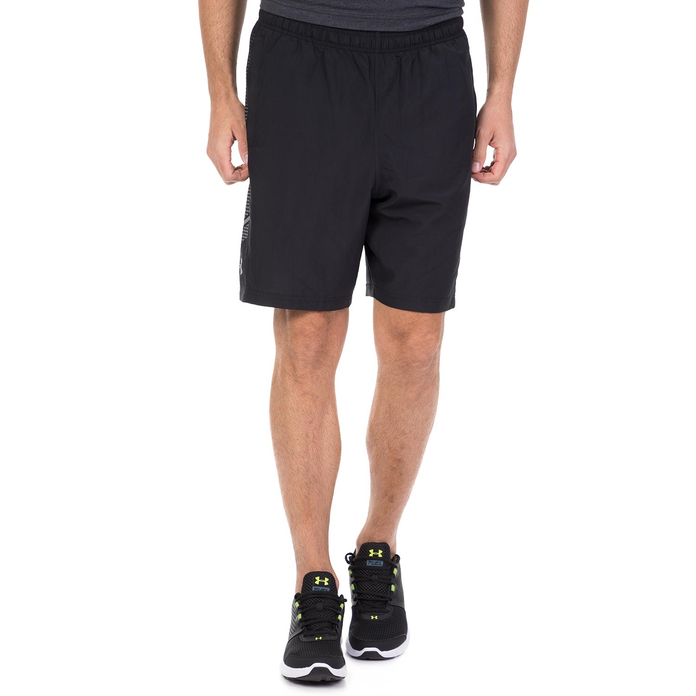 UNDER ARMOUR - Ανδρική αθλητική βερμούδα UNDER ARMOUR μαύρο ανδρικά ρούχα σορτς βερμούδες αθλητικά