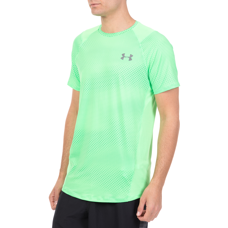 d764fc67344 UNDER ARMOUR - Ανδρική αθλητική κοντομάνικη μπλούζα UNDER ARMOUR MK1 SS EU  SMU πράσινη, Ανδρικά αθλητικά t-shirts, ΑΝΔΡΑΣ   ΡΟΥΧΑ   T-SHIRTS