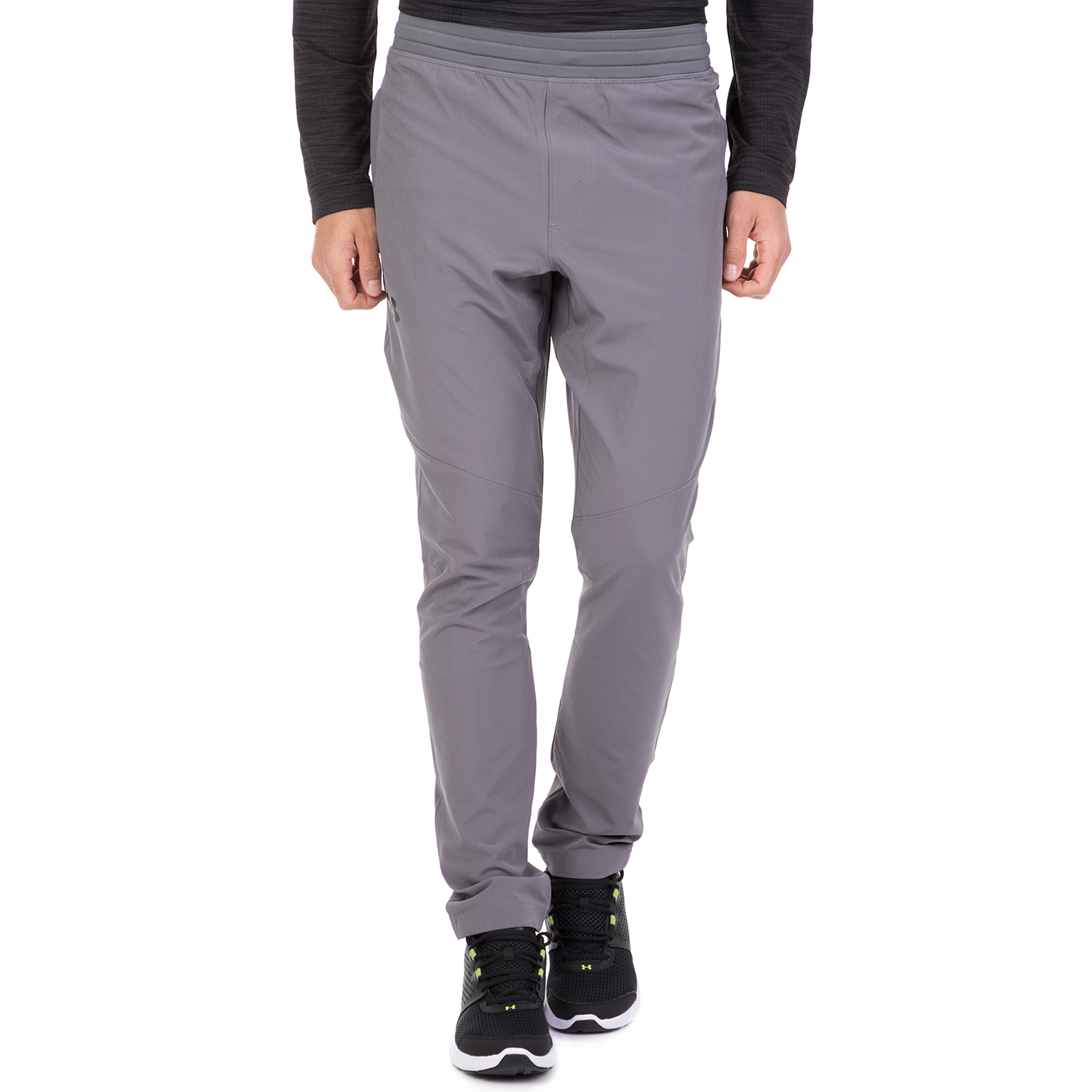 5fe6a66275e UNDER ARMOUR - Ανδρικό παντελόνι φόρμας UNDER ARMOUR WG WOVEN γκρι