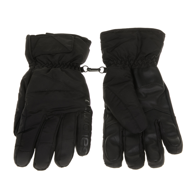 SALOMON - Ανδρικά γάντια FORCE μαύρα ανδρικά αξεσουάρ φουλάρια κασκόλ γάντια