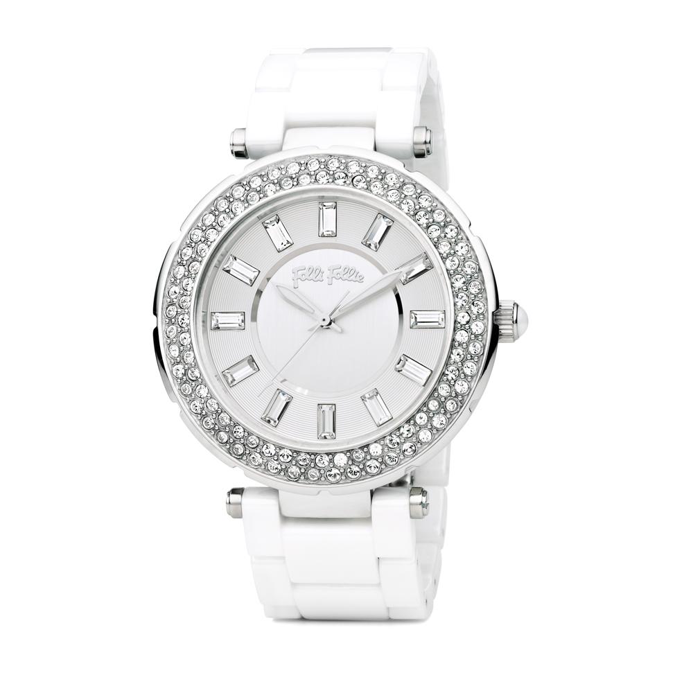 4a70846045 FOLLI FOLLIE - Γυναικείο ρολόι Folli Follie BEAUTIME λευκό ...