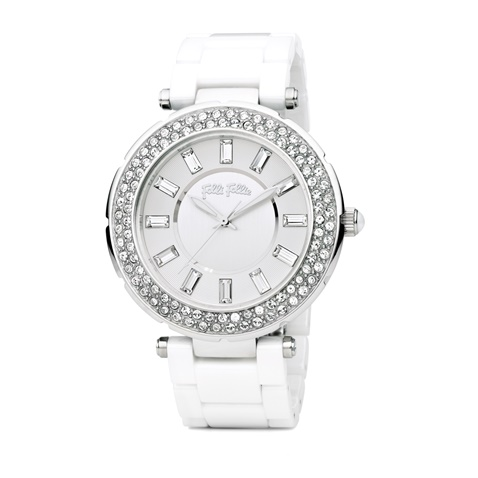 025393d9a5 Γυναικείο ρολόι Folli Follie BEAUTIME λευκό (1719549.0-0000 ...