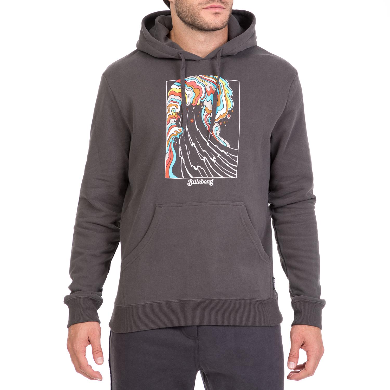 BILLABONG - Ανδρική φούτερ μπλούζα BILLABONG ROGUE ανθρακί