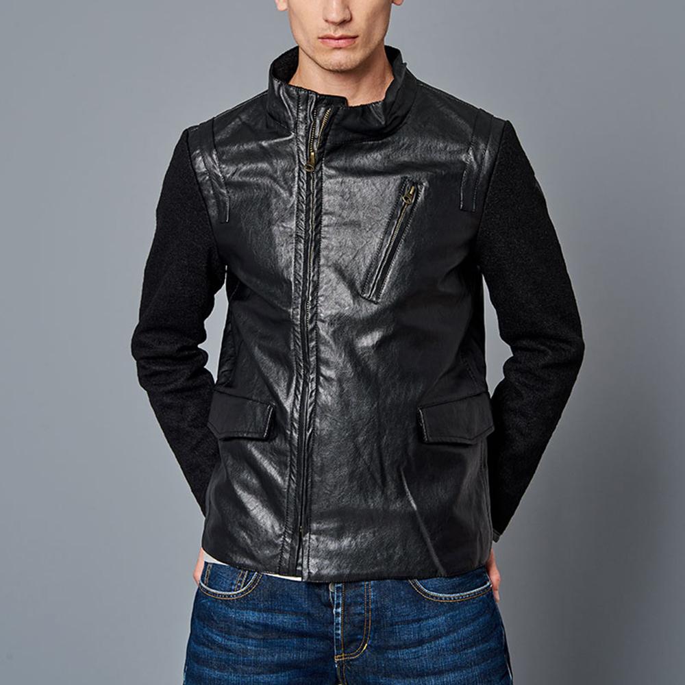 FUNKY BUDDHA - Ανδρικό jacket FUNKY BUDDHA μαύρο eb231669667