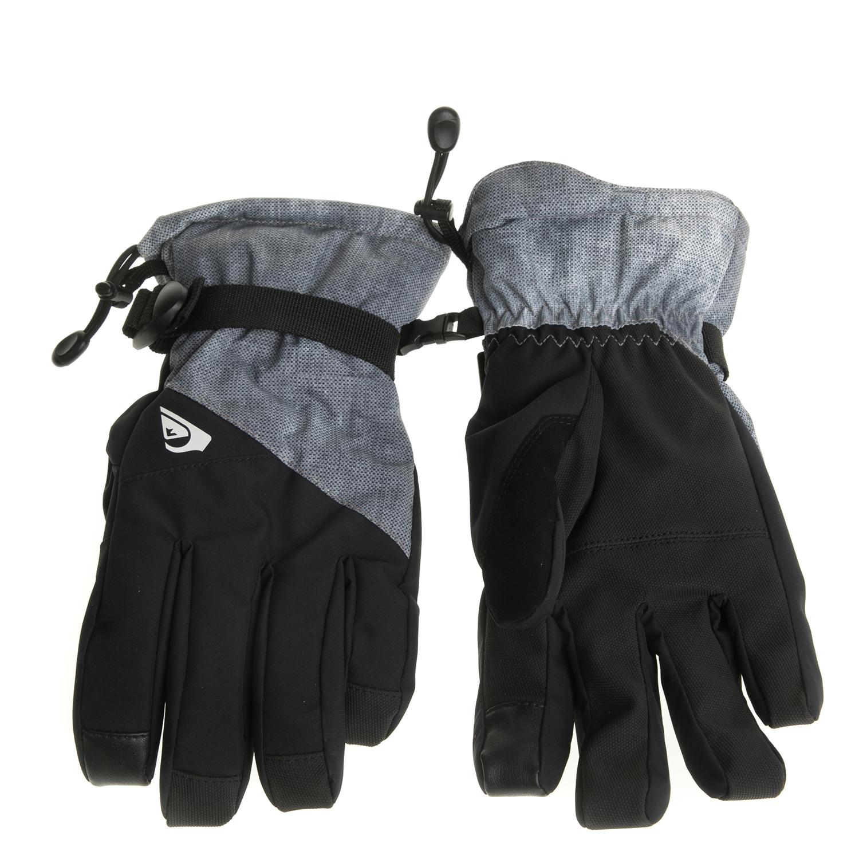 QUIKSILVER - Ανδρικά γάντια MISSION μαύρα-γάντια ανδρικά αξεσουάρ φουλάρια κασκόλ γάντια