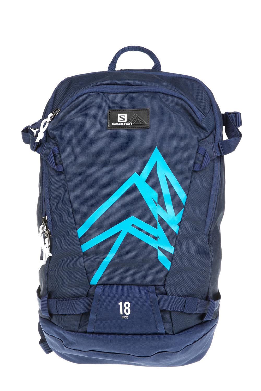 SALOMON - Unisex σακίδιο πλάτης BAG SIDE 18 MEDIEVAL μπλε γυναικεία αξεσουάρ τσάντες σακίδια πλάτης
