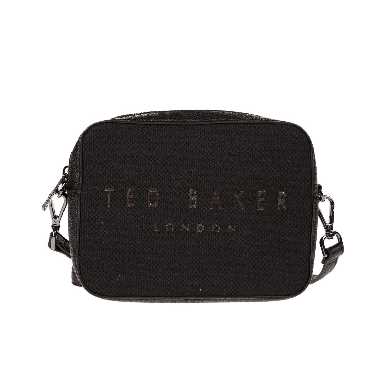 TED BAKER - Γυναικεία τσάντα χιαστί TED BAKER JOSEYY μαύρη γυναικεία αξεσουάρ τσάντες σακίδια χιαστί   cross body