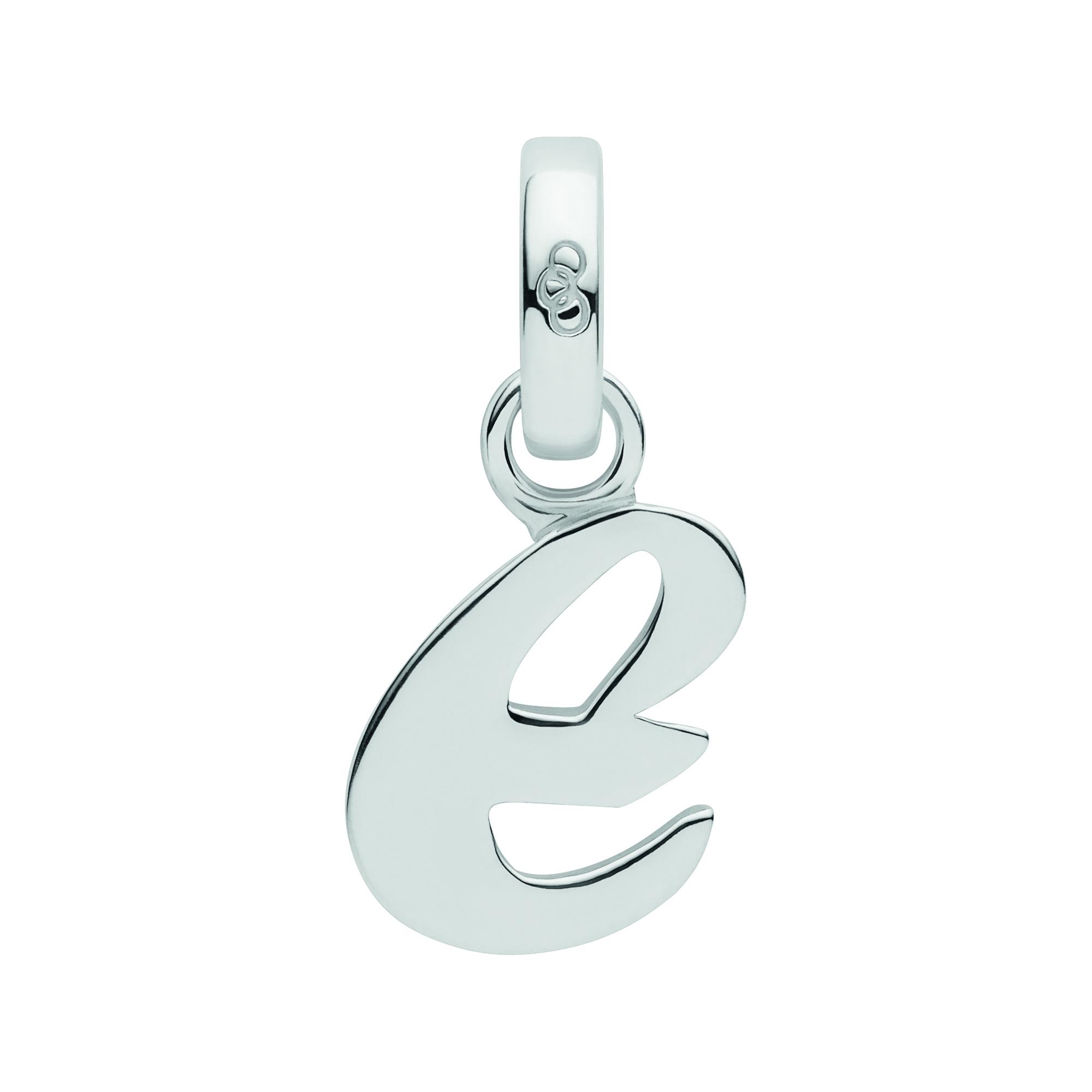 LINKS OF LONDON - Ασημένιο γούρι Alphabet Charms E γυναικεία αξεσουάρ κοσμήματα παντατίφ