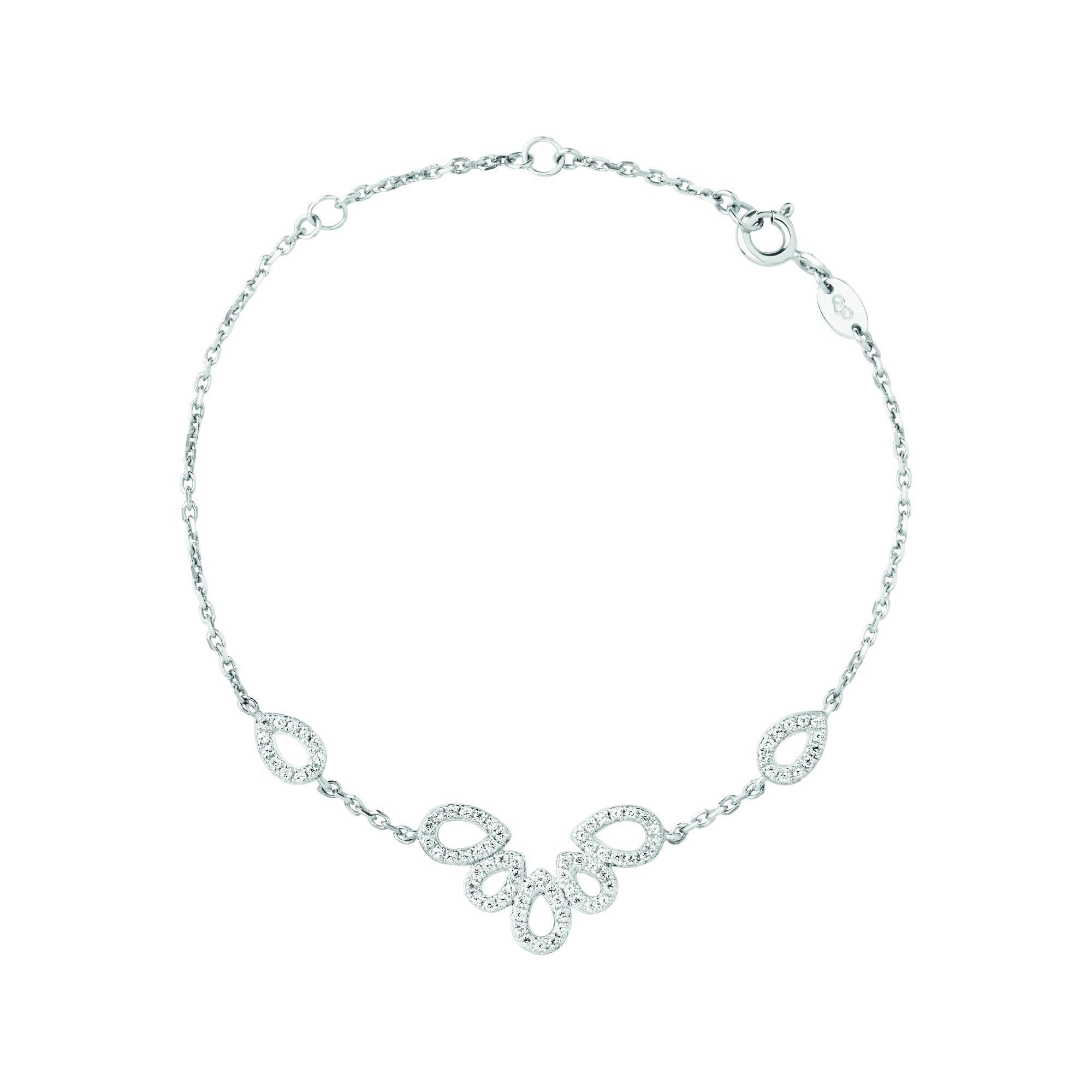 LINKS OF LONDON - Ασημένιο βραχιόλι Outlet Peardrops γυναικεία αξεσουάρ κοσμήματα βραχιόλια