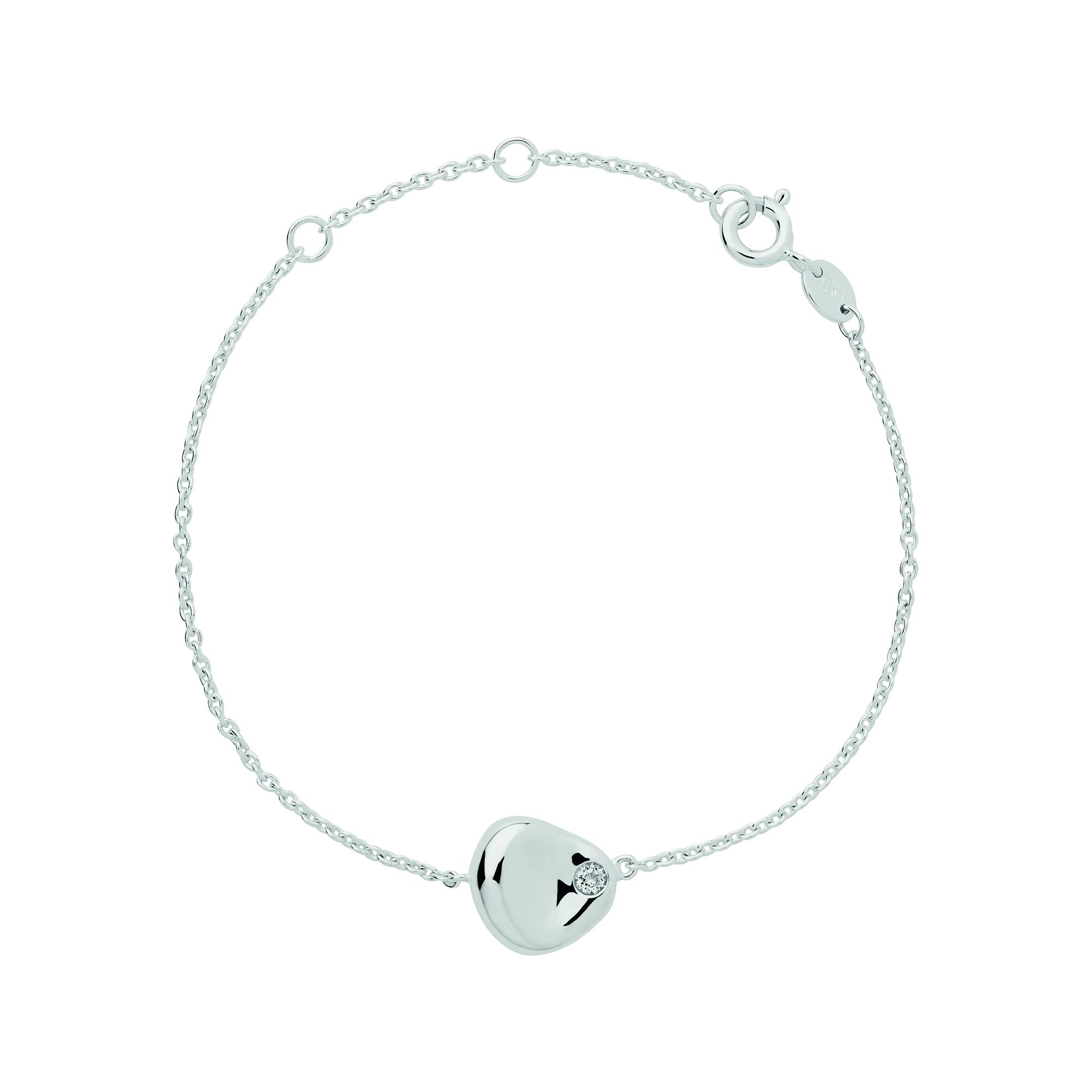 LINKS OF LONDON - Γυναικείο βραχιόλι LINKS OF LONDON Outlet Pebbles ασημί γυναικεία αξεσουάρ κοσμήματα βραχιόλια