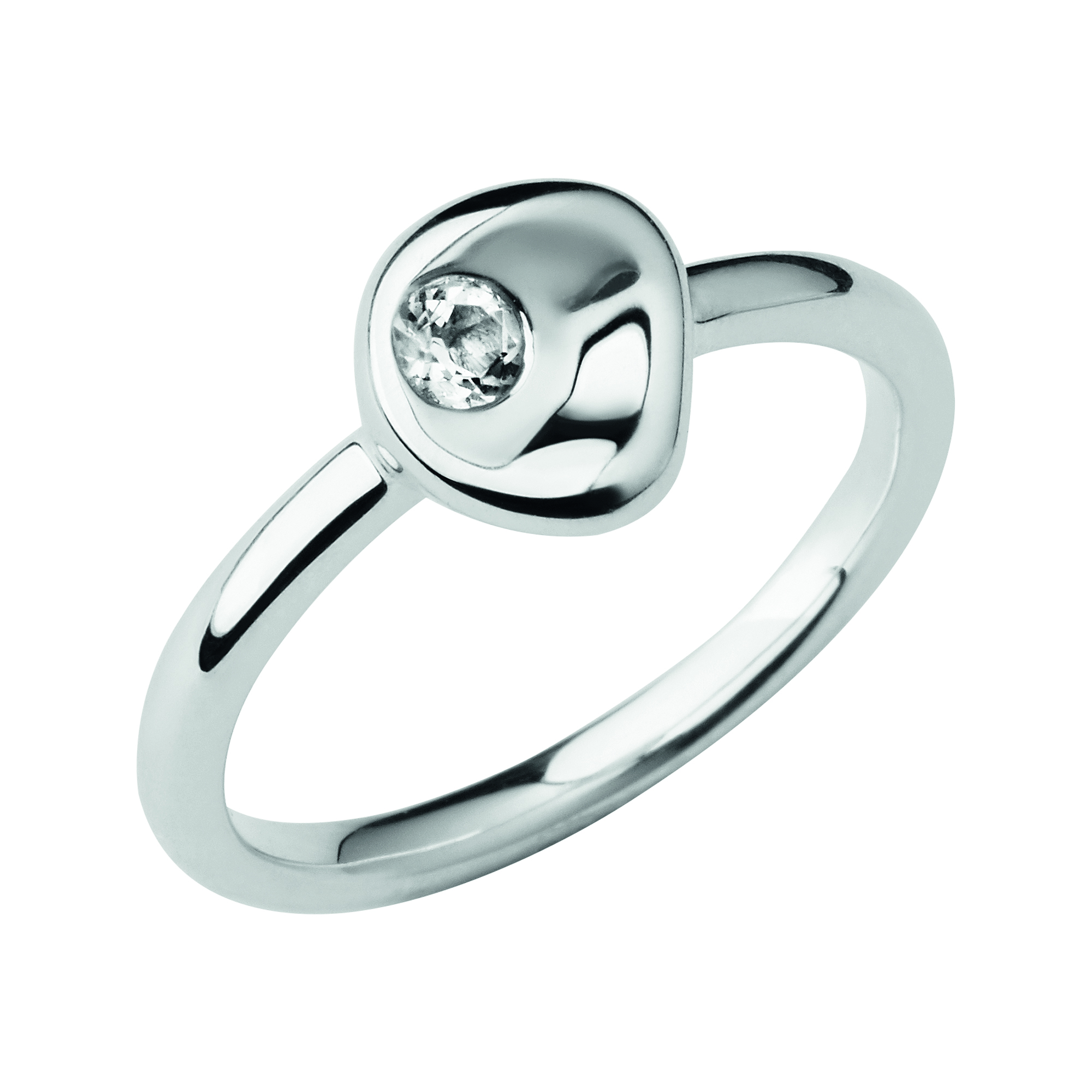 LINKS OF LONDON - Ασημένιο δαχτυλίδι Pebbles - μεγέθος 5 γυναικεία αξεσουάρ κοσμήματα δαχτυλίδια