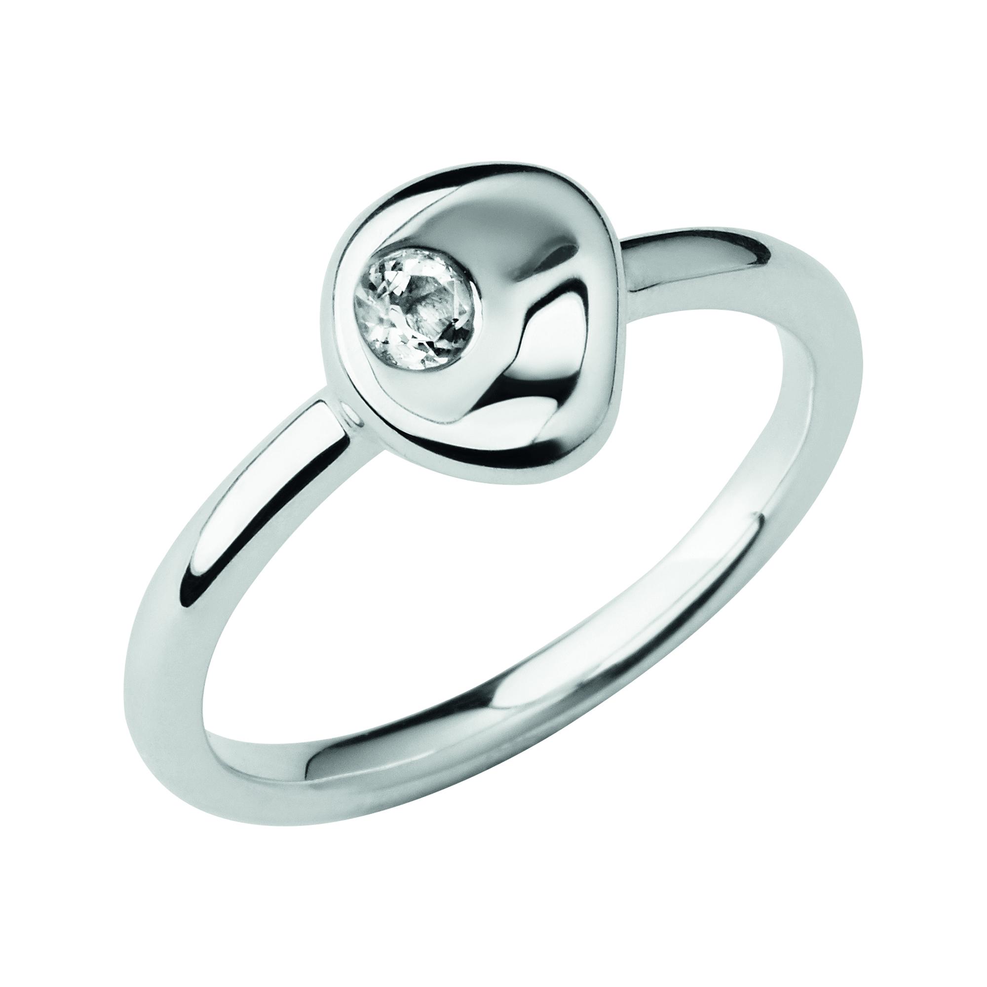 LINKS OF LONDON - Ασημένιο δαχτυλίδι Pebbles - μέγεθος 56 γυναικεία αξεσουάρ κοσμήματα δαχτυλίδια