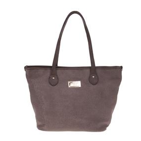 Γυναικεία τσάντα ώμου ABOS LAURA BIAGIOTTI καφέ. 104 b2bc61573d9