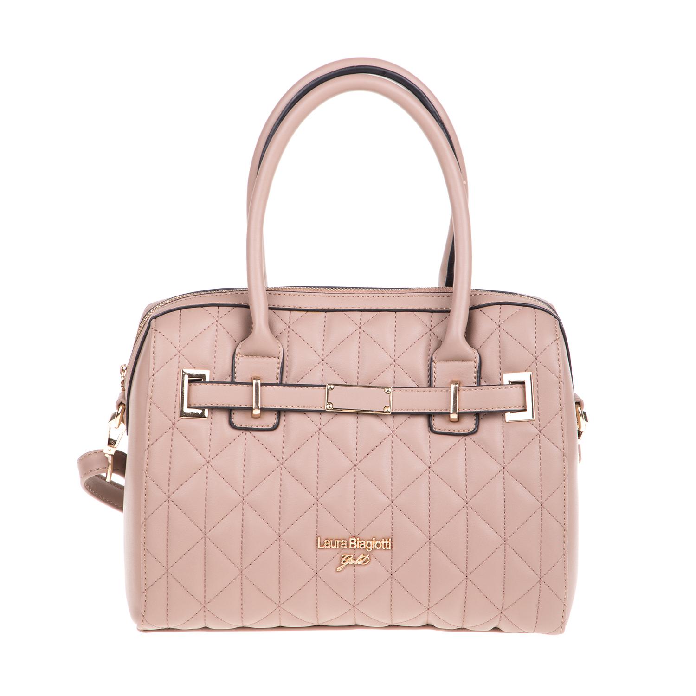 LAURA BIAGIOTTI - Γυναικεία τσάντα χειρός LAURA BIAGIOTTI ροζ
