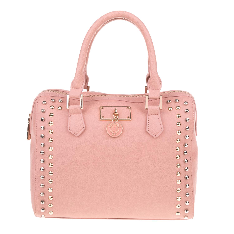 LAURA BIAGIOTTI - Γυναικεία τσάντα χειρός ACIPR LAURA BIAGIOTTI ροζ γυναικεία αξεσουάρ τσάντες σακίδια χειρός