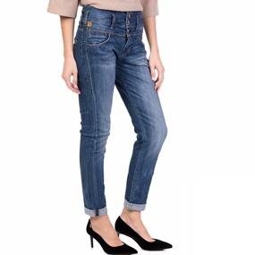 8985f02e7fbd STAFF. Γυναικείο ψηλόμεσο τζιν παντελόνι LINDA STAFF μπλε