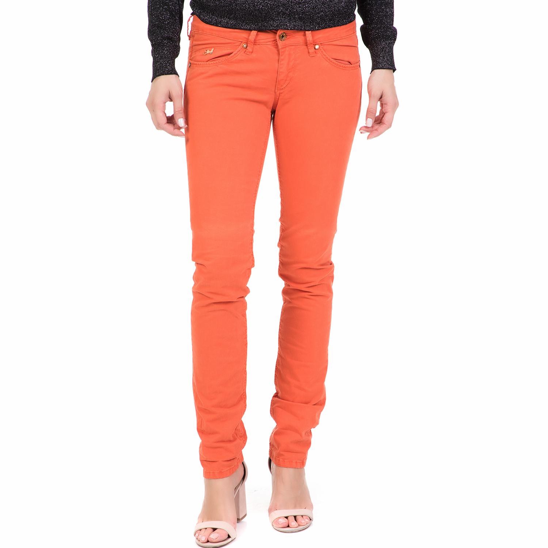 69819cff0670 STAFF - Γυναικείο παντελόνι SNIZZY STAFF πορτοκαλί
