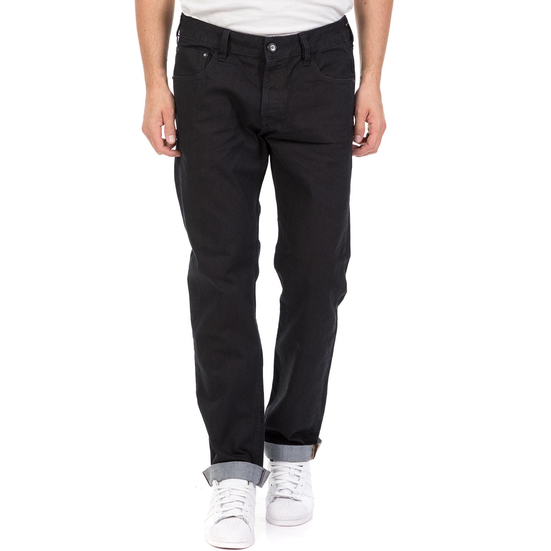 STAFF - Ανδρικό τζιν παντελόνι AMBER STAFF μπλε σκούρο ανδρικά ρούχα τζίν straight