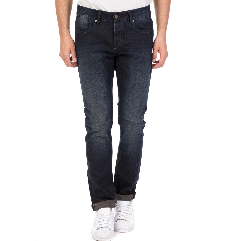 STAFF - Ανδρικό τζιν παντελόνι FABBIO STAFF μπλε σκούρο ανδρικά ρούχα τζίν skinny