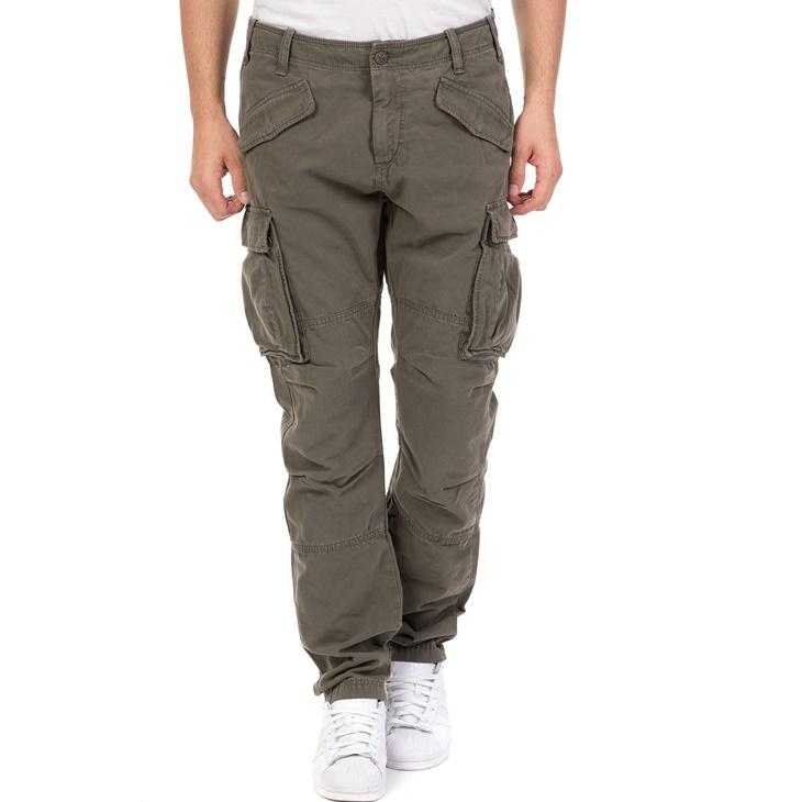 Ανδρικό παντελόνι MILLER CARGO STAFF χακί (1724339.0-l004)  8271f669231