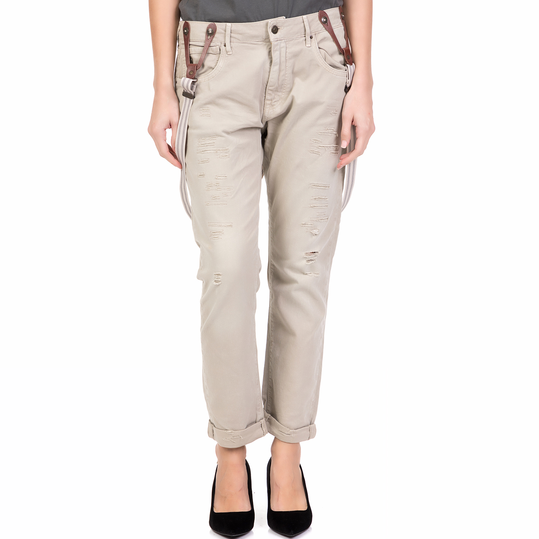 46ed9223ba80 -64% STAFF – Γυναικείο παντελόνι BRENDA STAFF εκρού
