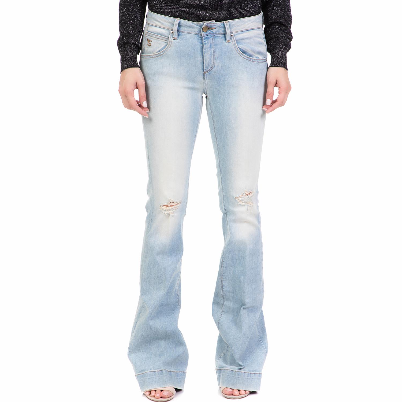 5eaf8f8e1c57 STAFF - Γυναικείο τζιν παντελόνι καμπάνα DOROTHY STAFF γαλάζιο