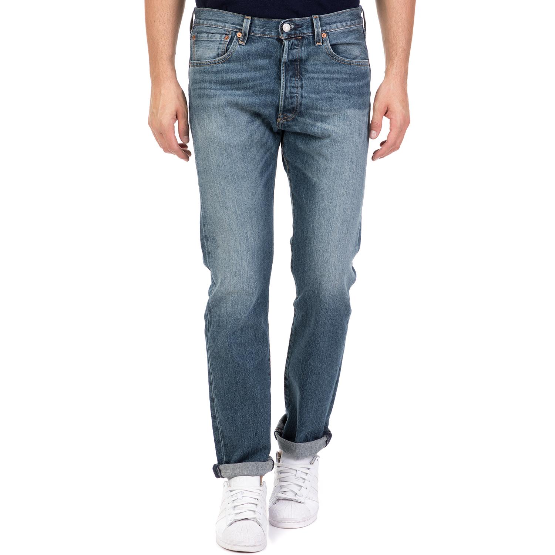 -35% LEVI S – Ανδρικό τζιν παντελόνι 501 LEVI S ORIGINAL FIT μπλε 94deb8ca306