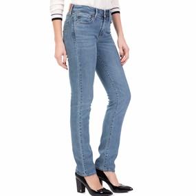 LEVI S. Γυναικείο τζιν παντελόνι LEVI S 712 SLIM SOUTH SIDE μπλε d9ac8e0bb24