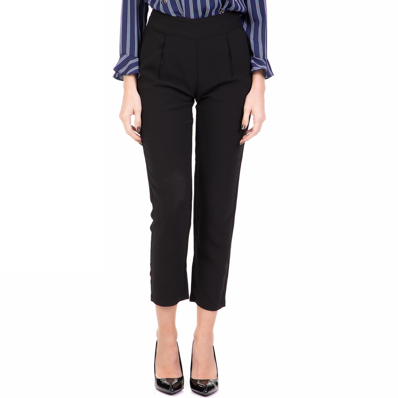 b1c456d70408 SILVIAN HEACH - Γυναικείο ψηλόμεσο cropped παντελόνι BATAVIA SILVIAN HEACH  μαύρο