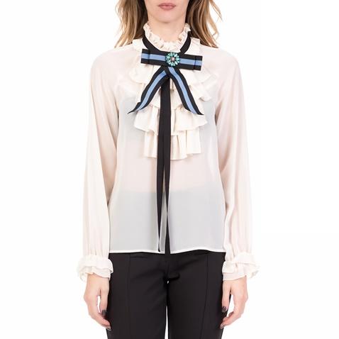 56d5fa4f0f27 Γυναικεία μακρυμάνικη μπλούζα GUERRERO SILVIAN HEACH μπεζ (1725640.0-k4k4)