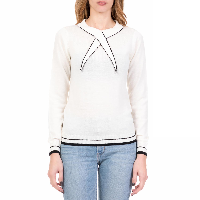 SILVIAN HEACH - Γυναικείο πουλόβερ WIMMERA SILVIAN HEACH λευκό cd0ffb630d7