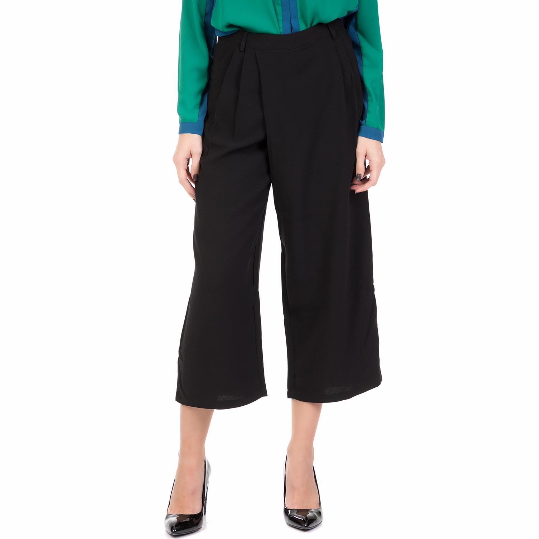 SILVIAN HEACH - Γυναικεία ζιπ κιλότ JOHNSTOWN SILVIAN HEACH μαύρη γυναικεία ρούχα παντελόνια cropped