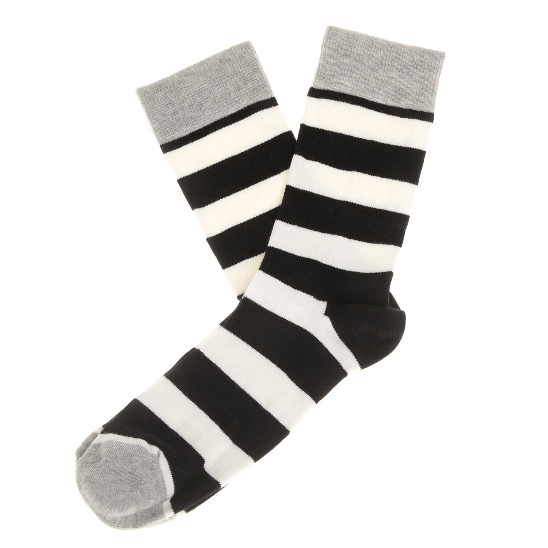 HAPPY SOCKS - Unisex κάλτσες HAPPY SOCKS ριγέ γυναικεία αξεσουάρ κάλτσες
