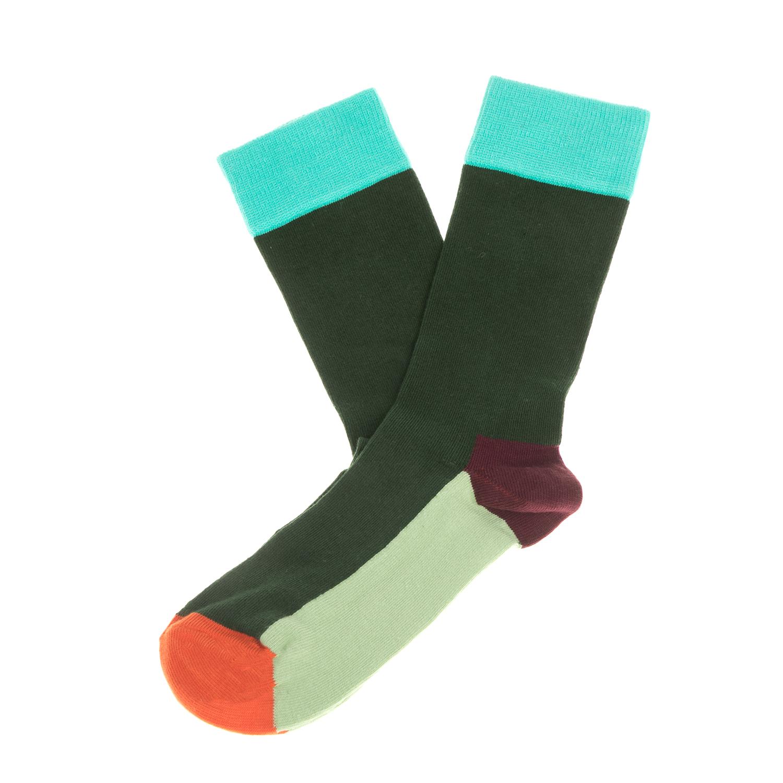 HAPPY SOCKS - Unisex κάλτσες HAPPY SOCKS πράσινες-λαχανί γυναικεία αξεσουάρ κάλτσες